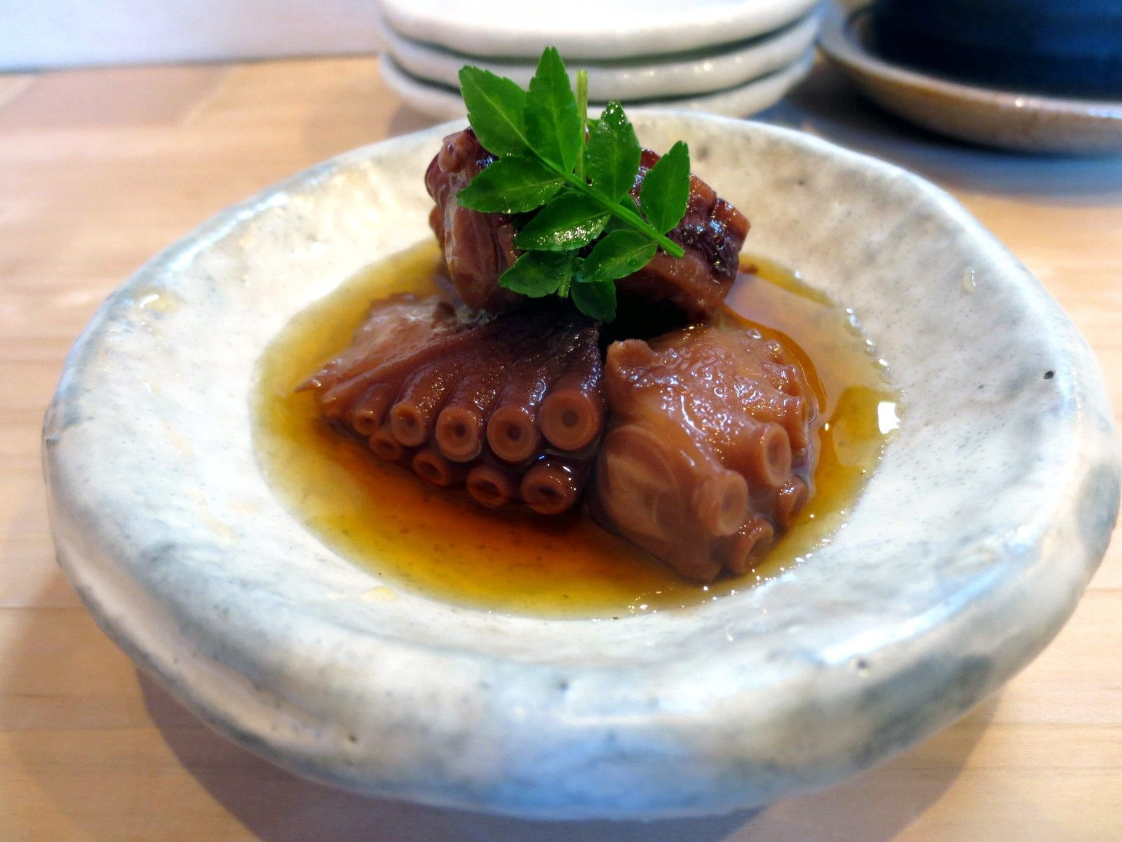 Lightly Simmered Octopus