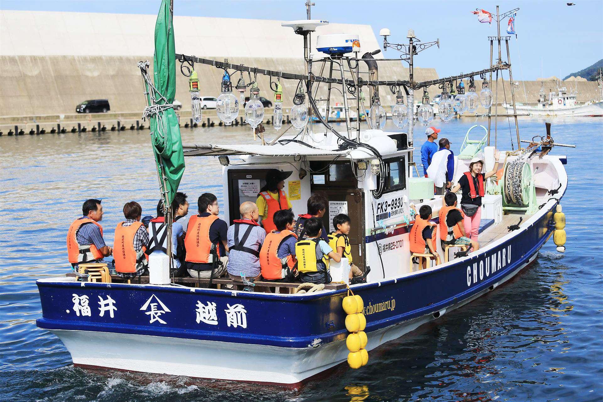 乘坐漁船出海體驗