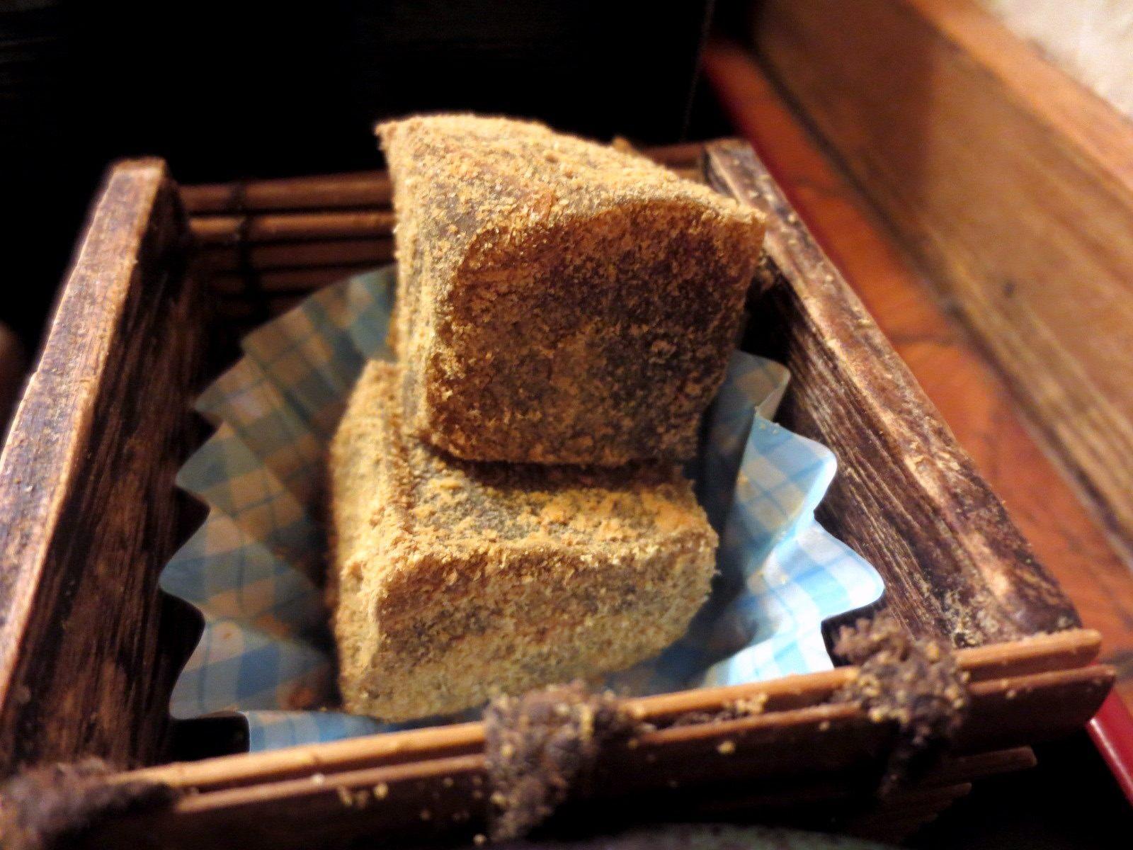 Brown Sugar Warabi-Mochi