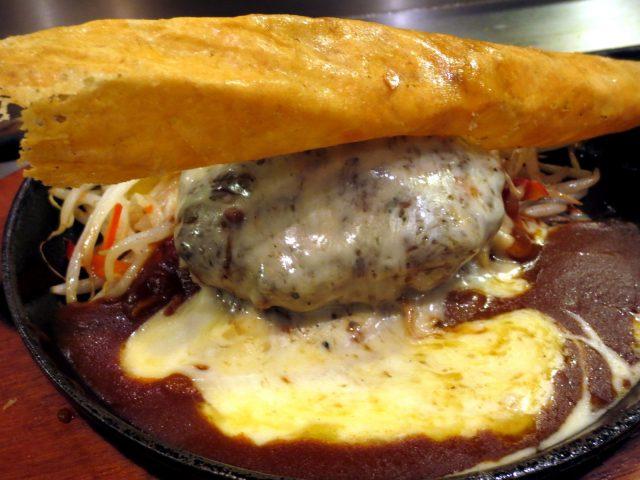 位於大阪的精品AGU豬肉漢堡排餐廳「大阪燒 NOKI」