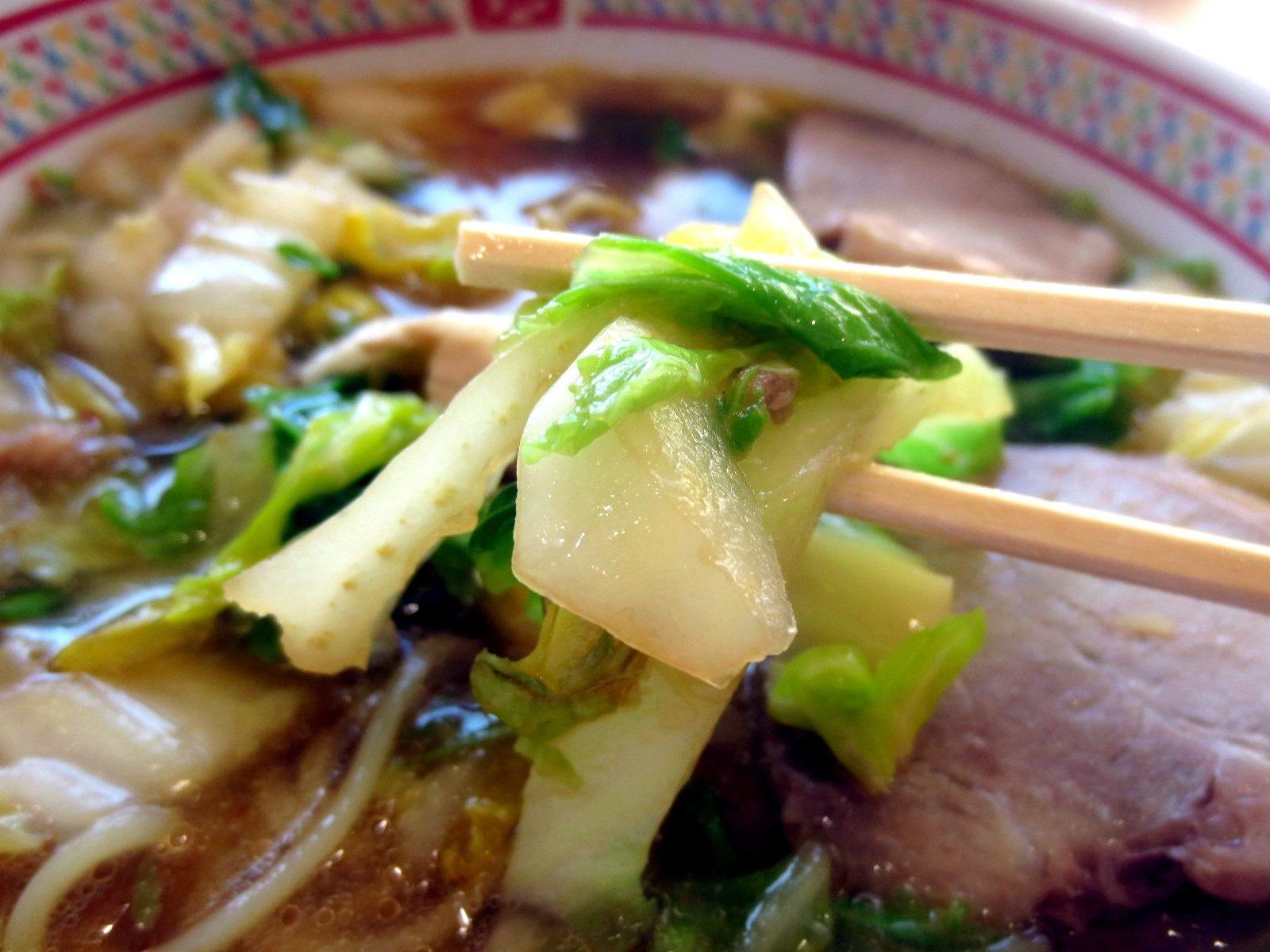 蔬菜煮得柔軟入味,非常好吃!