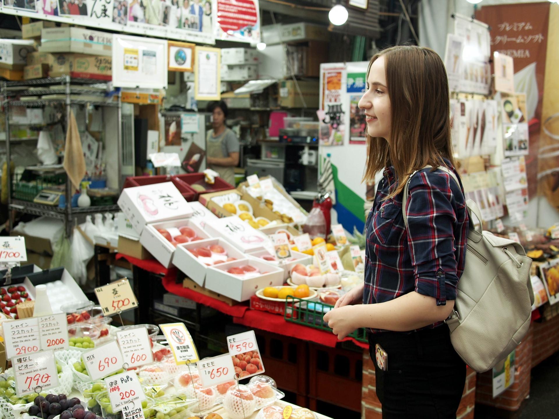 在黑門市場能買到價格便宜而又高品質的食材