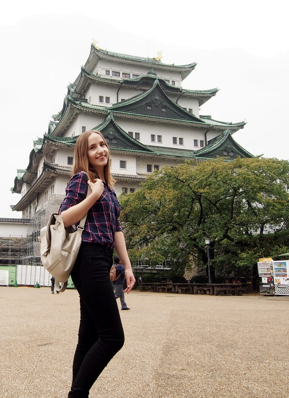 日本三大名城之一的美丽城堡名古屋城