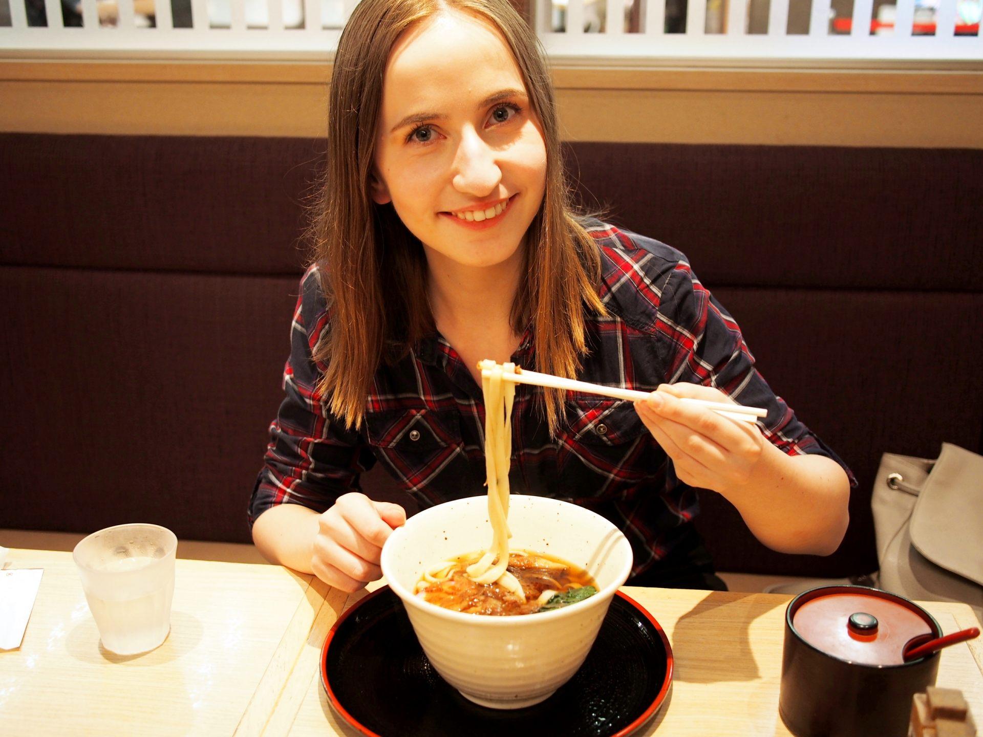 名古屋的棊子麵和大阪的烏龍麵。兩樣都很讚!