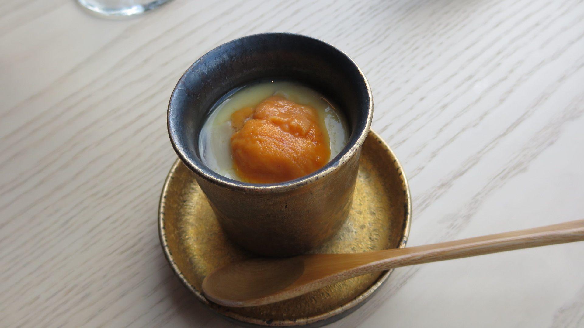 奢華的茶碗蒸