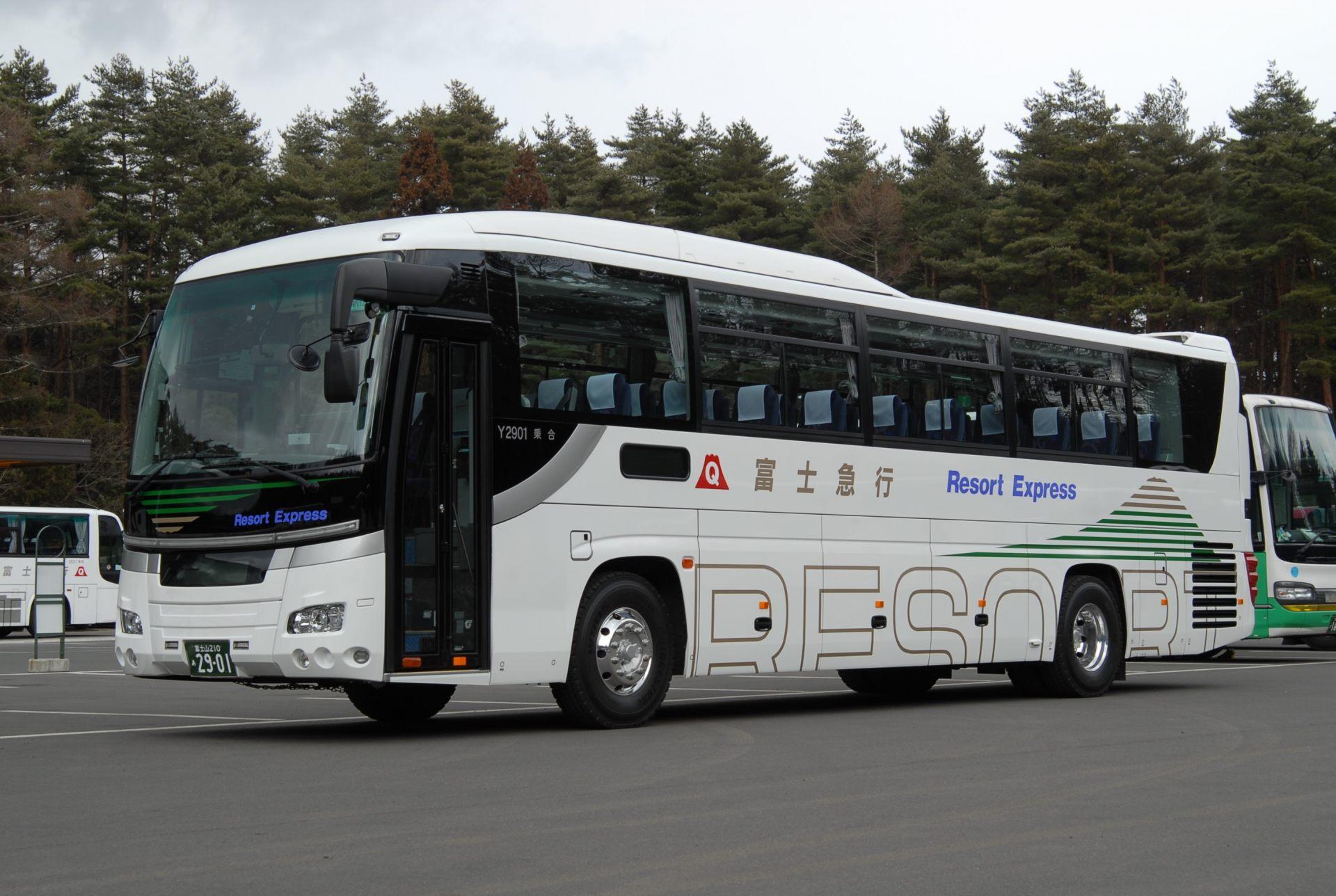 首都圈・靜岡的17個車站都有開往Yeti的巴士!