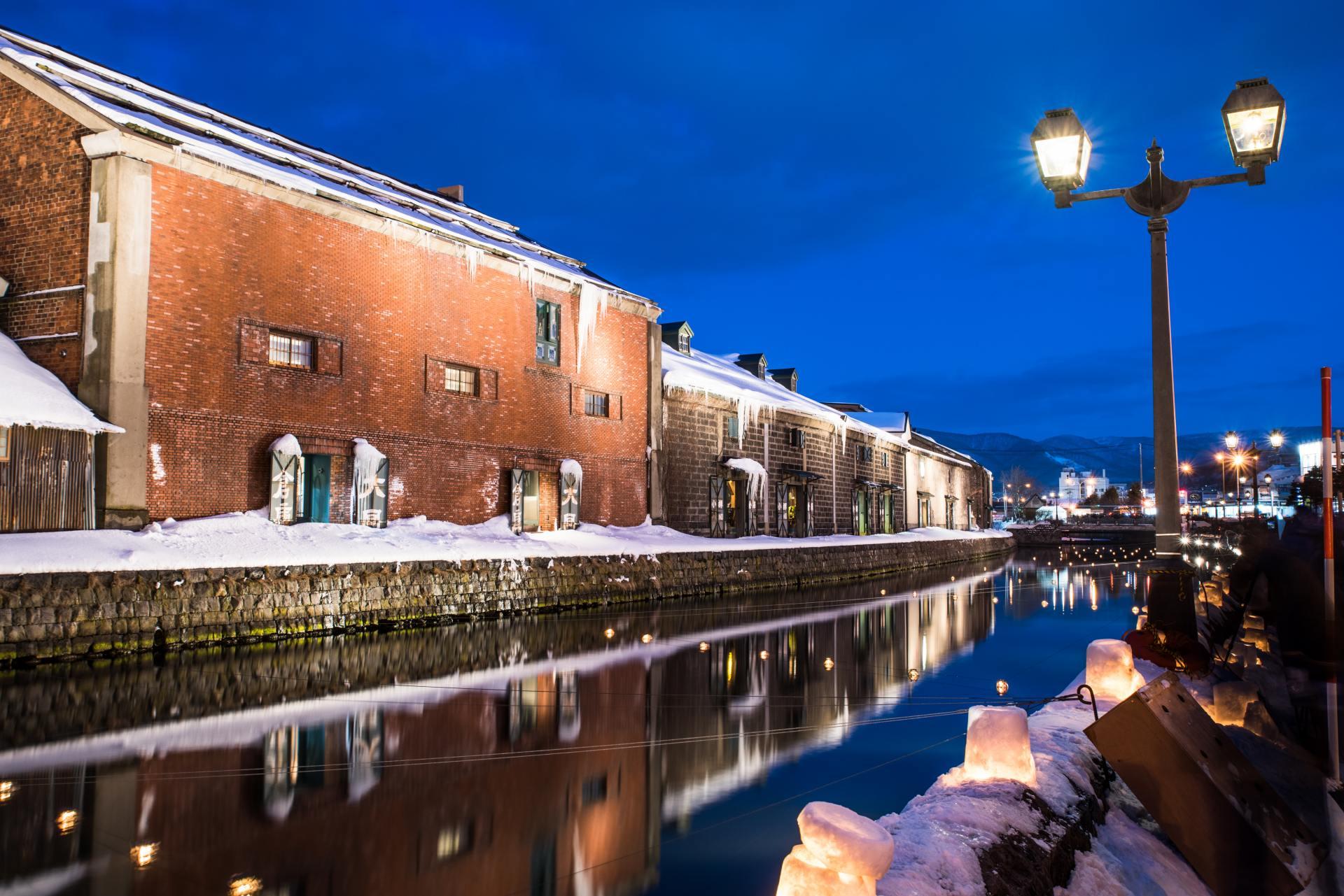 小樽营造的水路和历史性建筑的景观都非常美丽