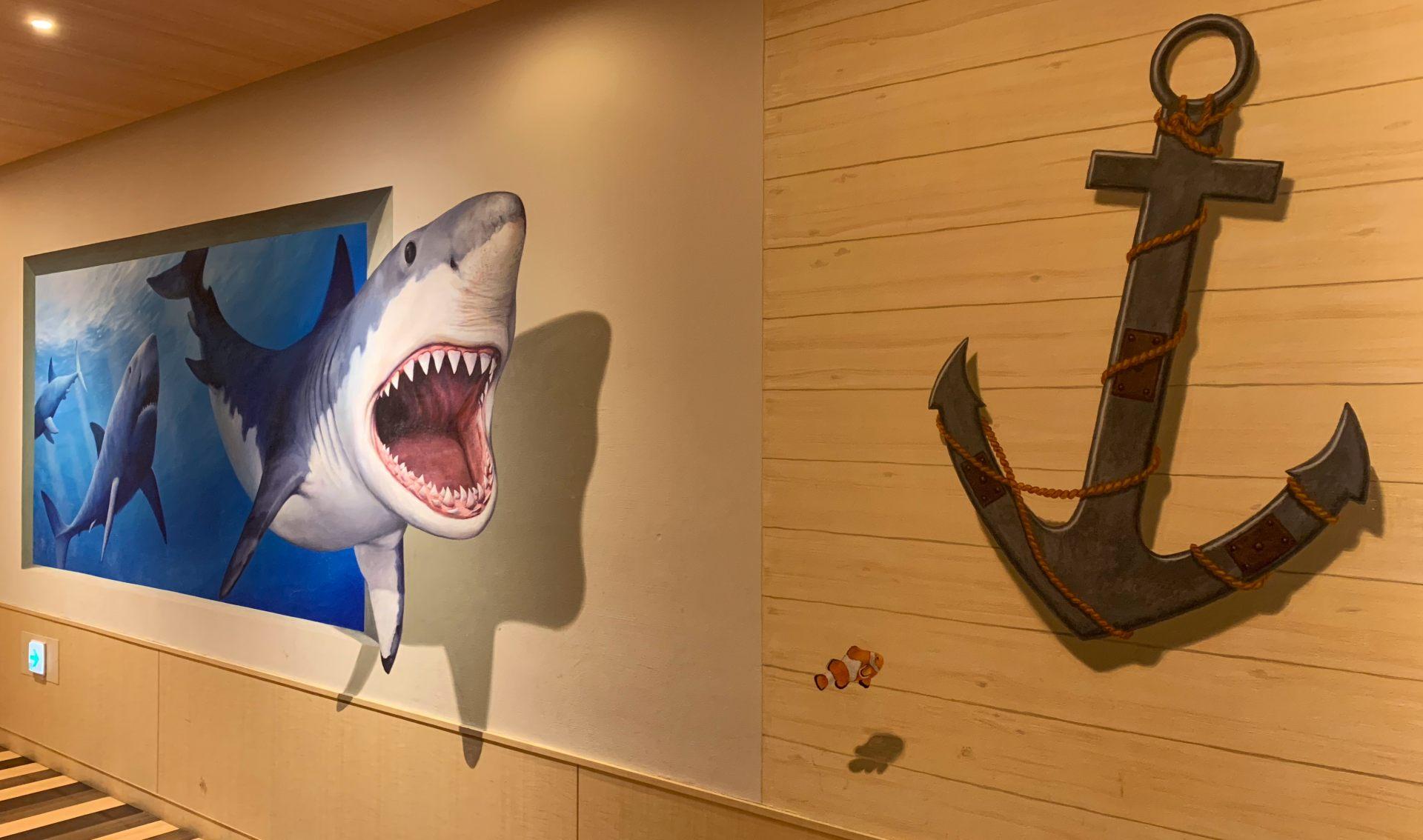 「DECKS Tokyo Beach 原創3D藝術」