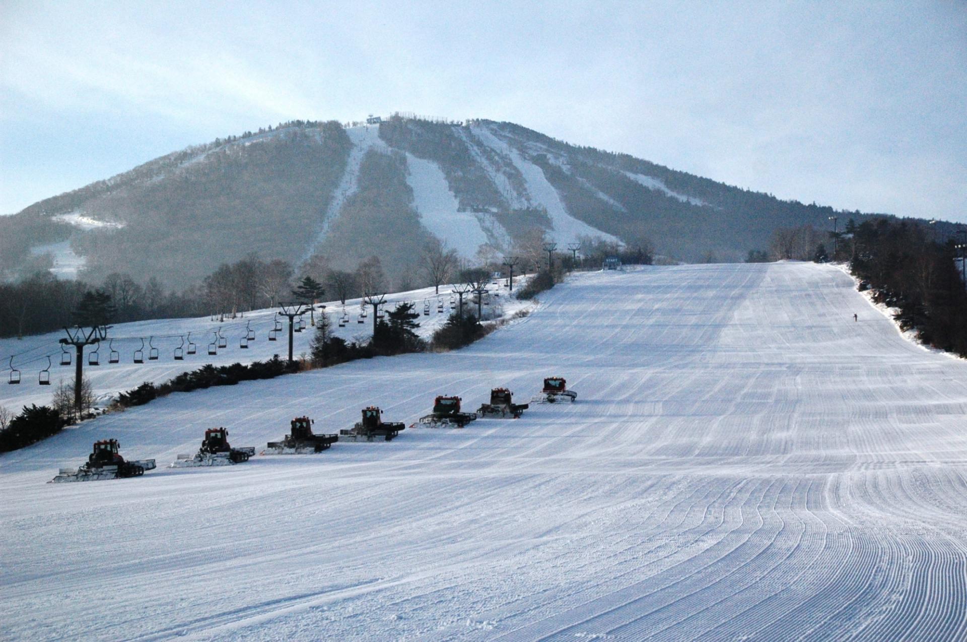 還擁有5.5公里的長程滑道,滑雪高手也能盡興。