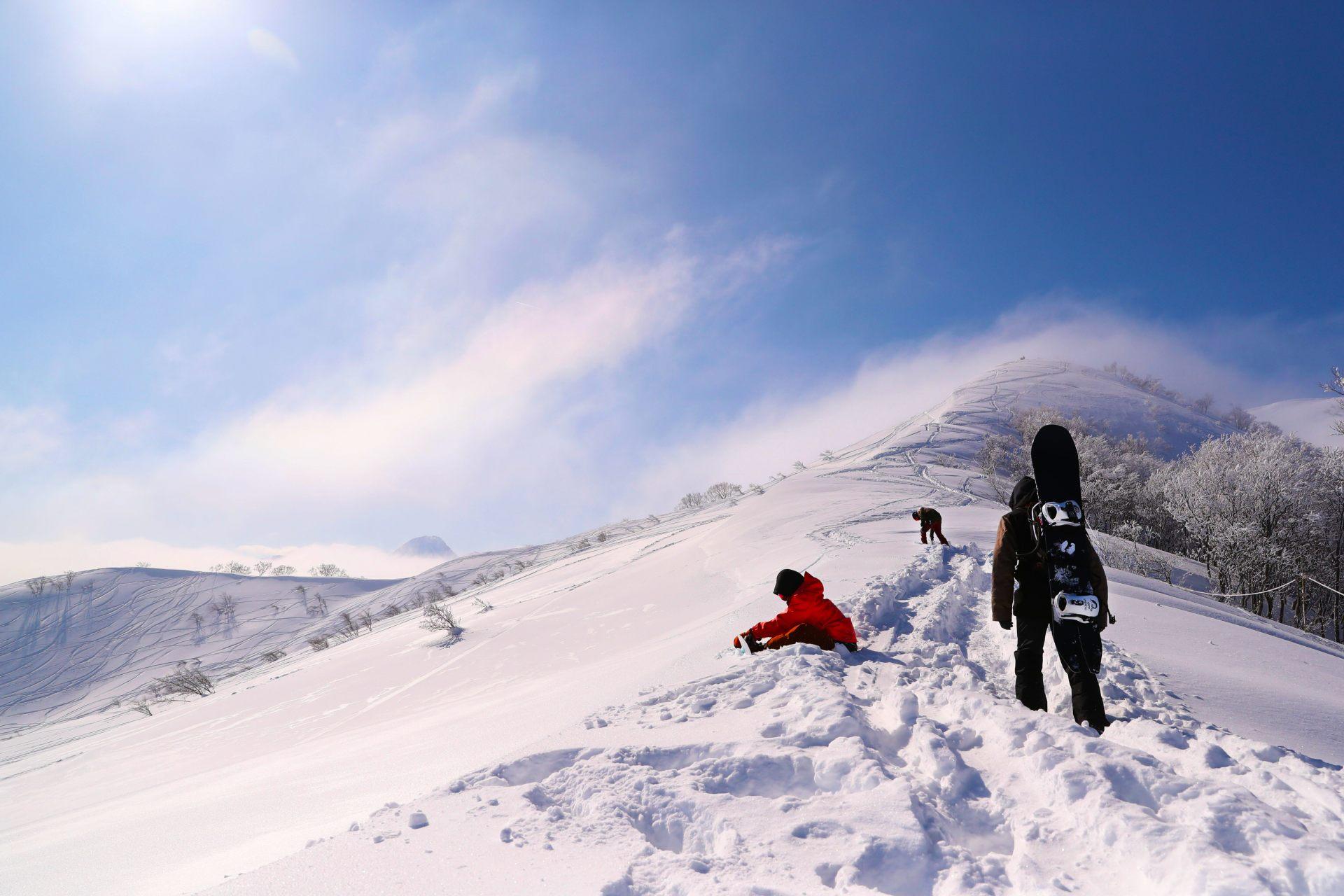 日本國內屈指可數的林間滑雪區