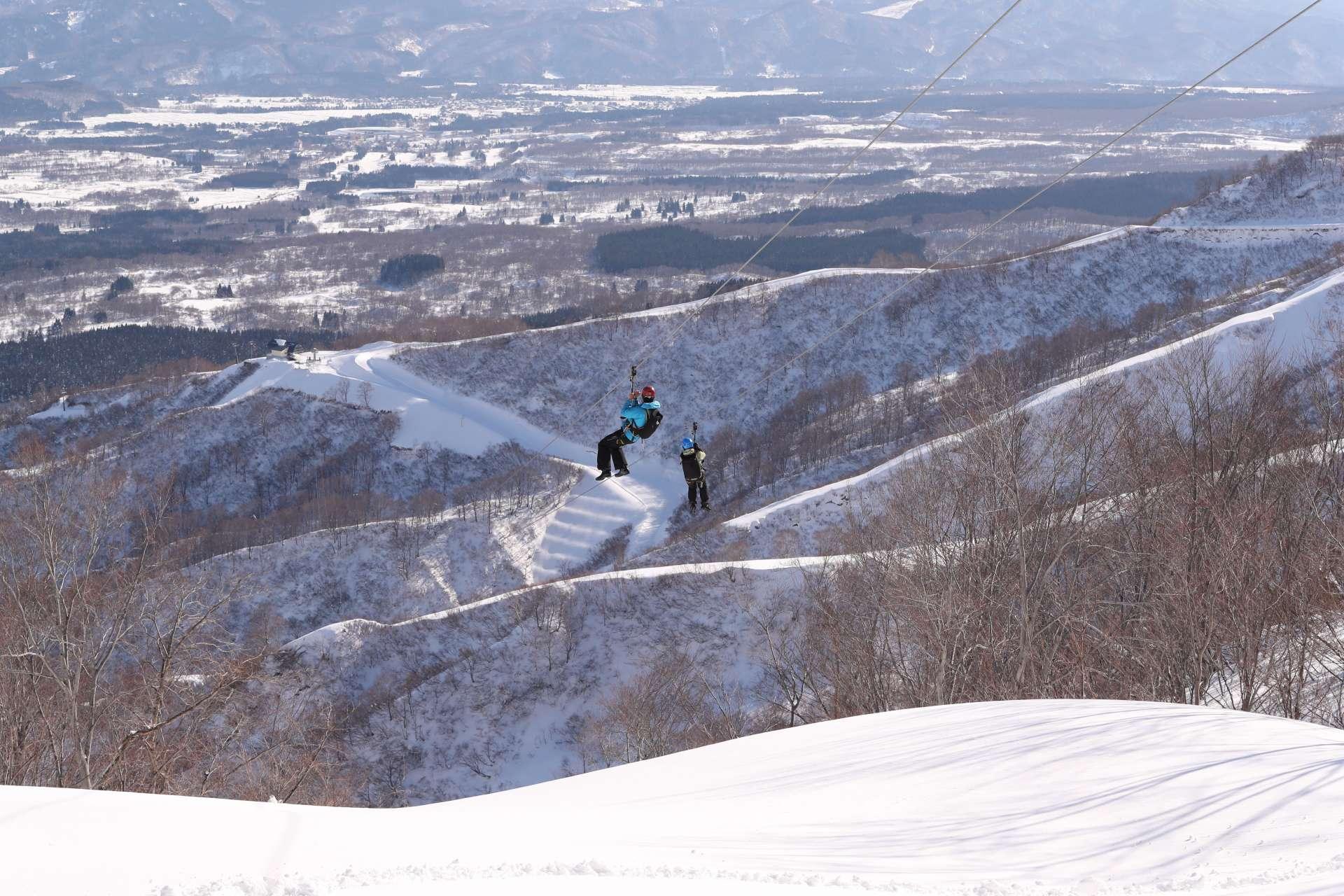 體驗滑行索道,飽覽大自然的壯麗景色