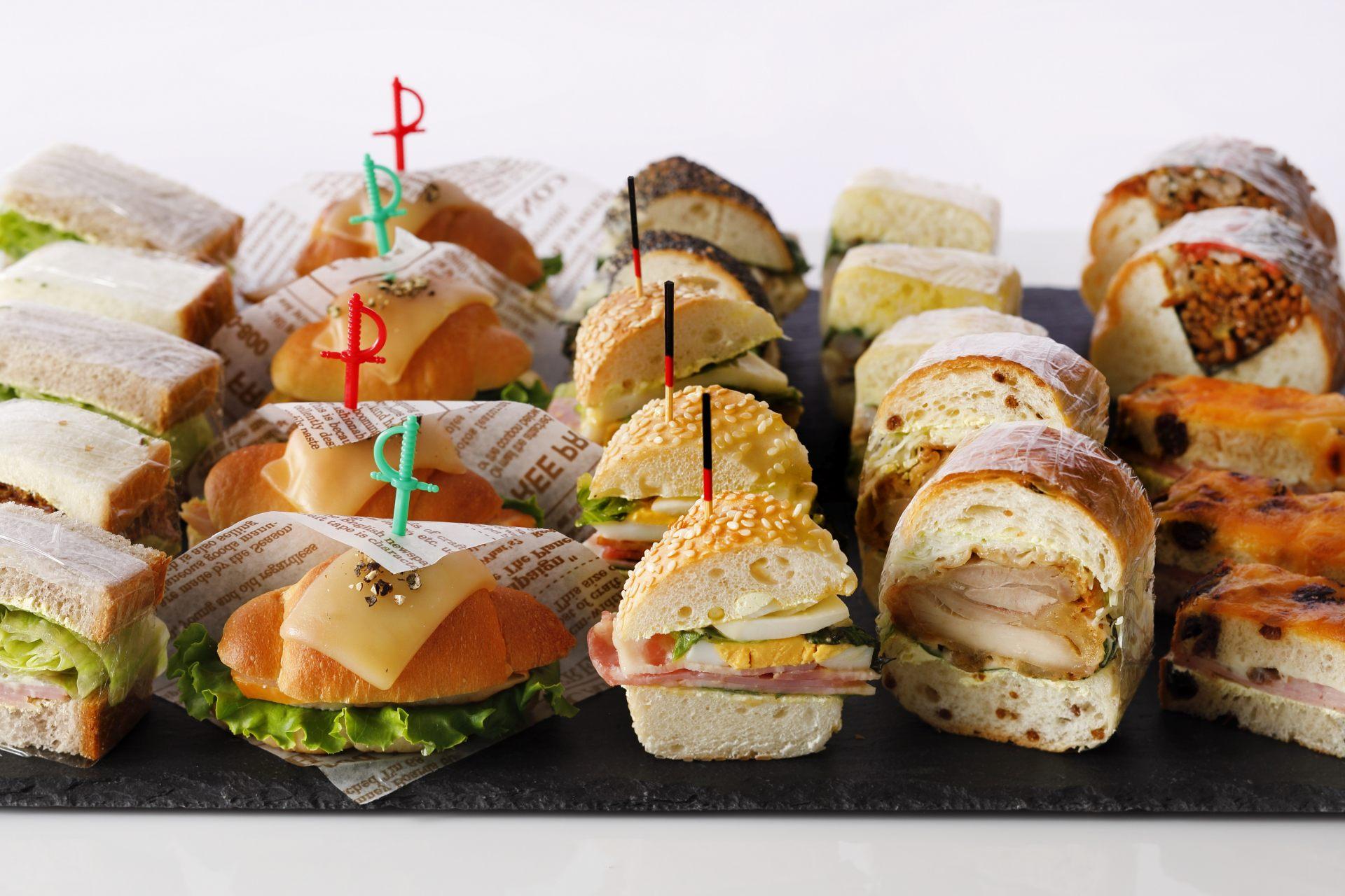 外观十分可爱的三明治