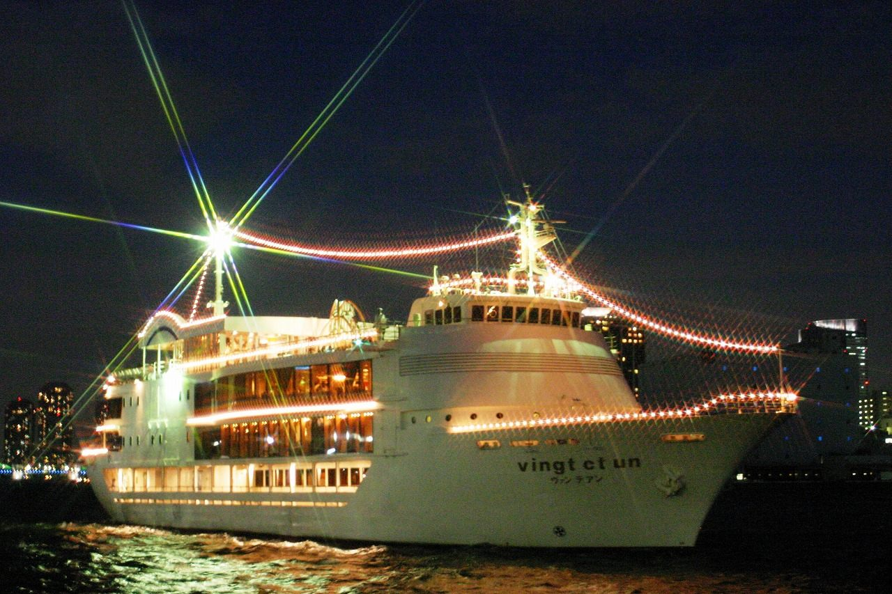 """The """"Tokyo Bay Cruise"""" travels between the must-see locations around Tokyo Bay"""