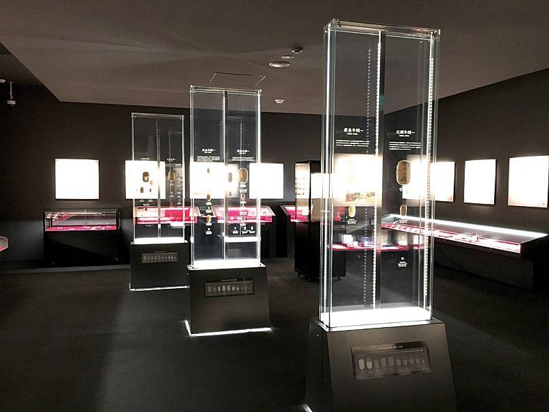 館內展示有珍貴的貨幣和獎牌