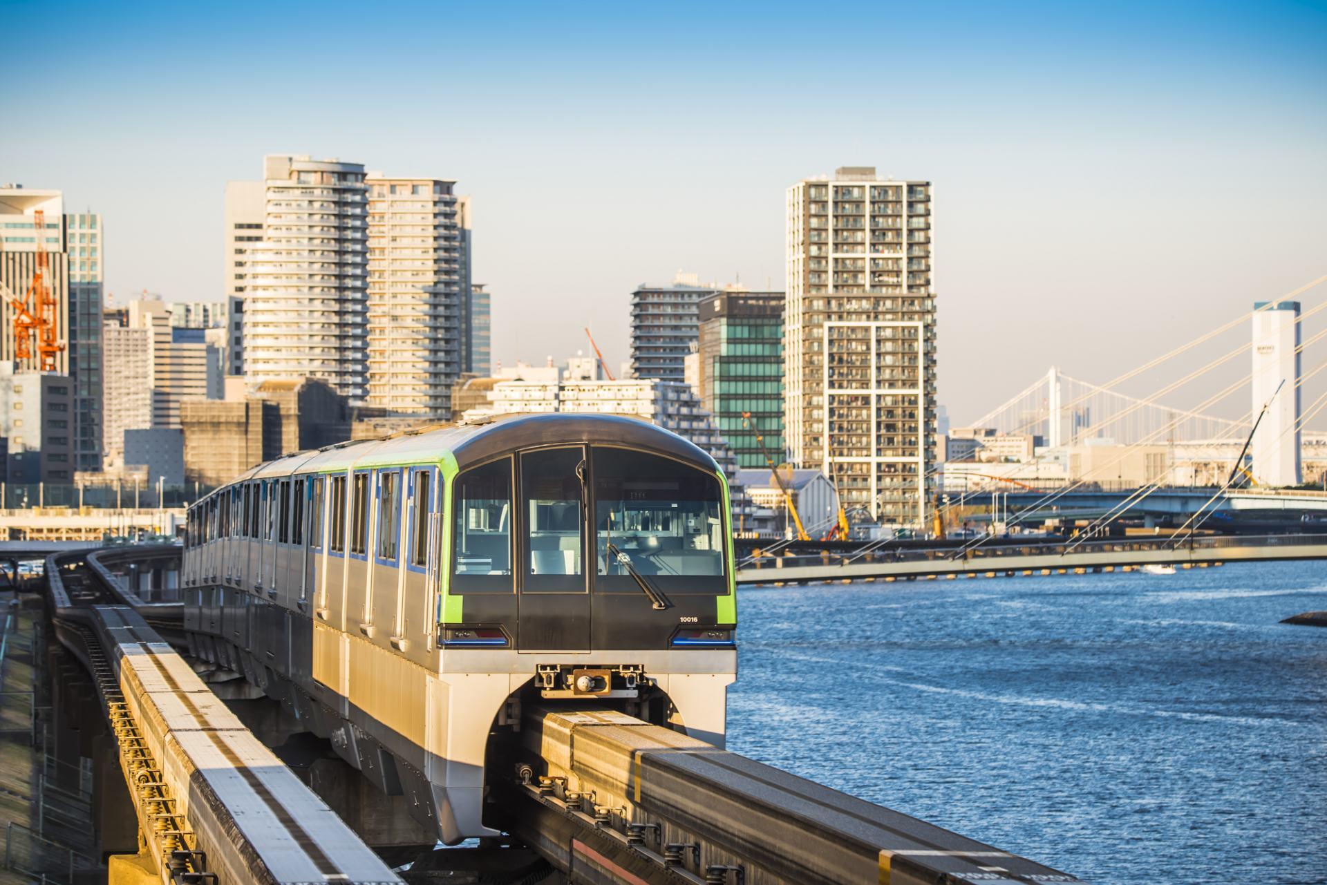 东京单轨电车「大井竞马场前站」