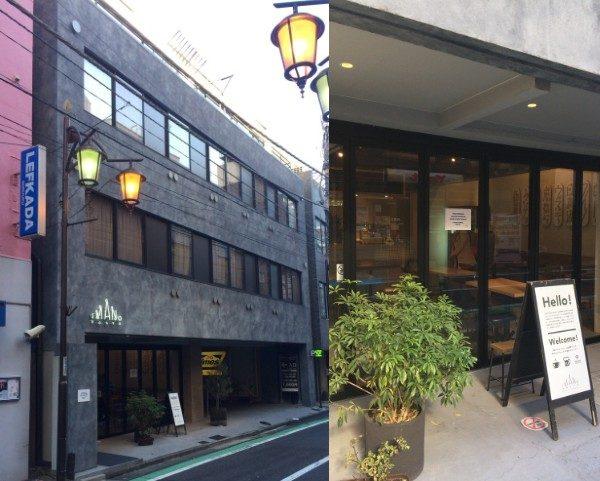 "Exterior of ""Imano Tokyo Hostel"""