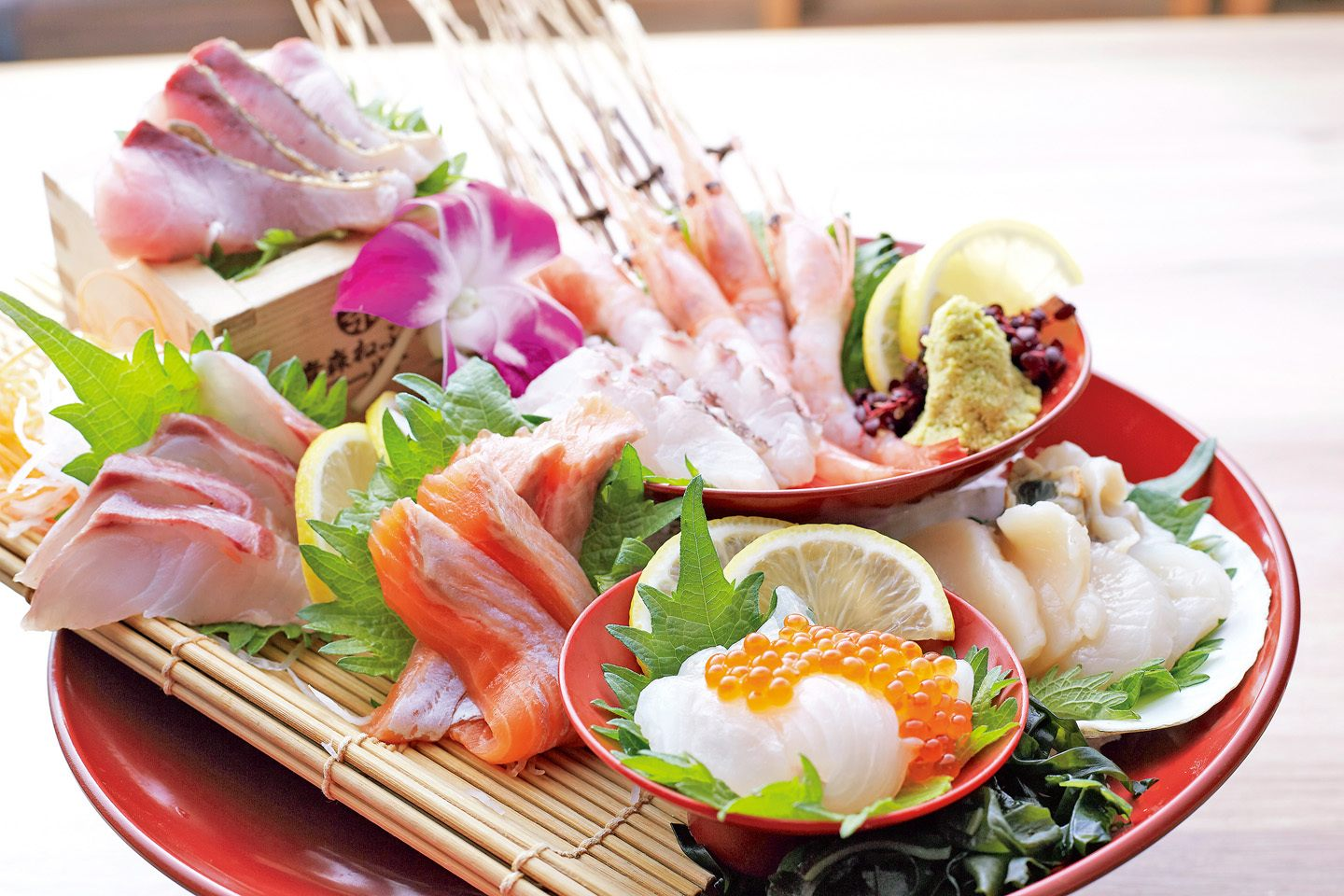 Plenty of fresh and high-quality seafood