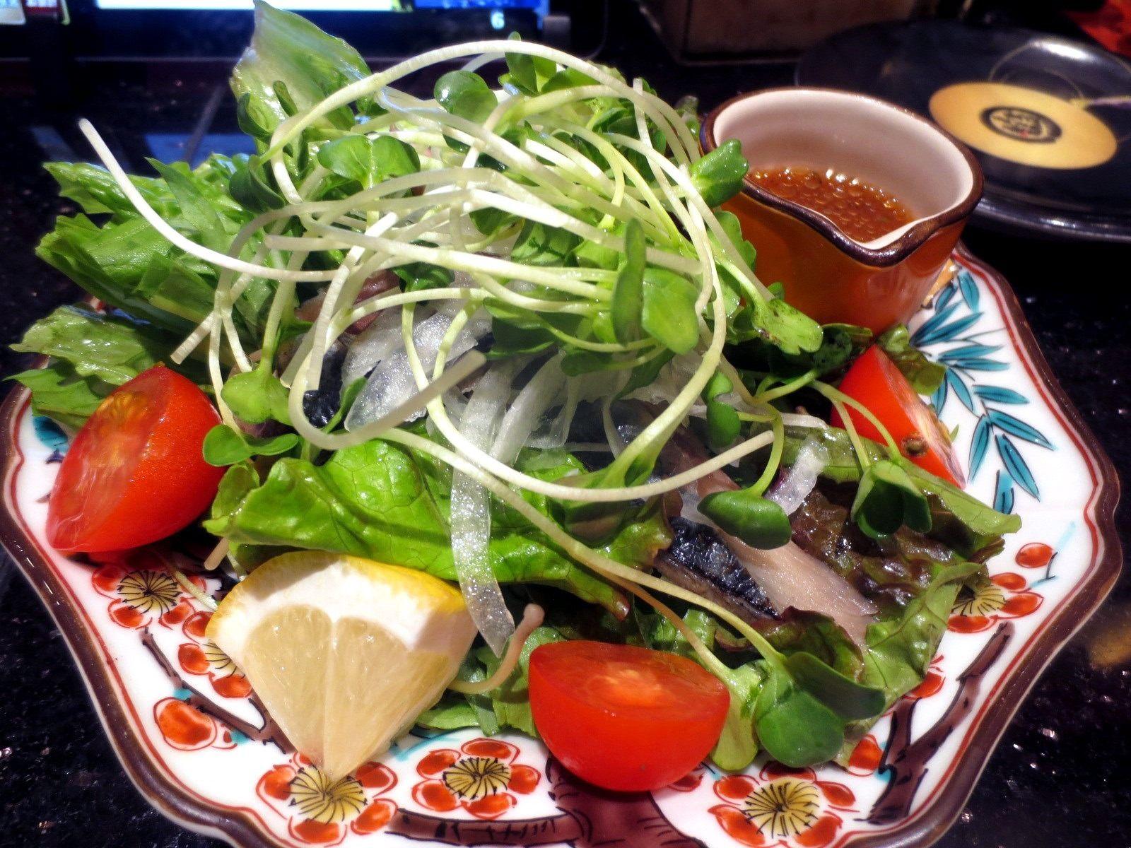Smoked Mackerel Salad  ¥560