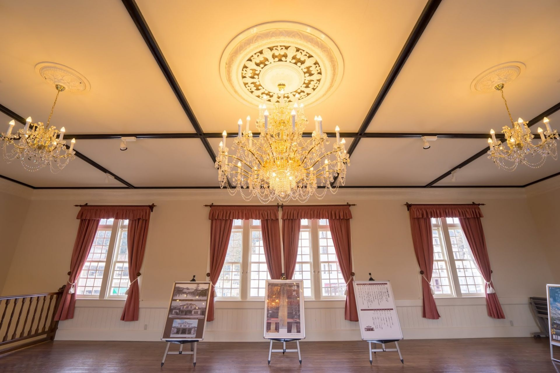 Luxurious chandeliers