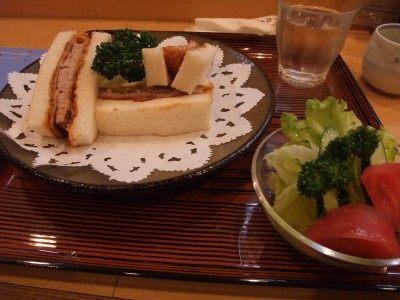 腰内猪排三明治 1250日圆