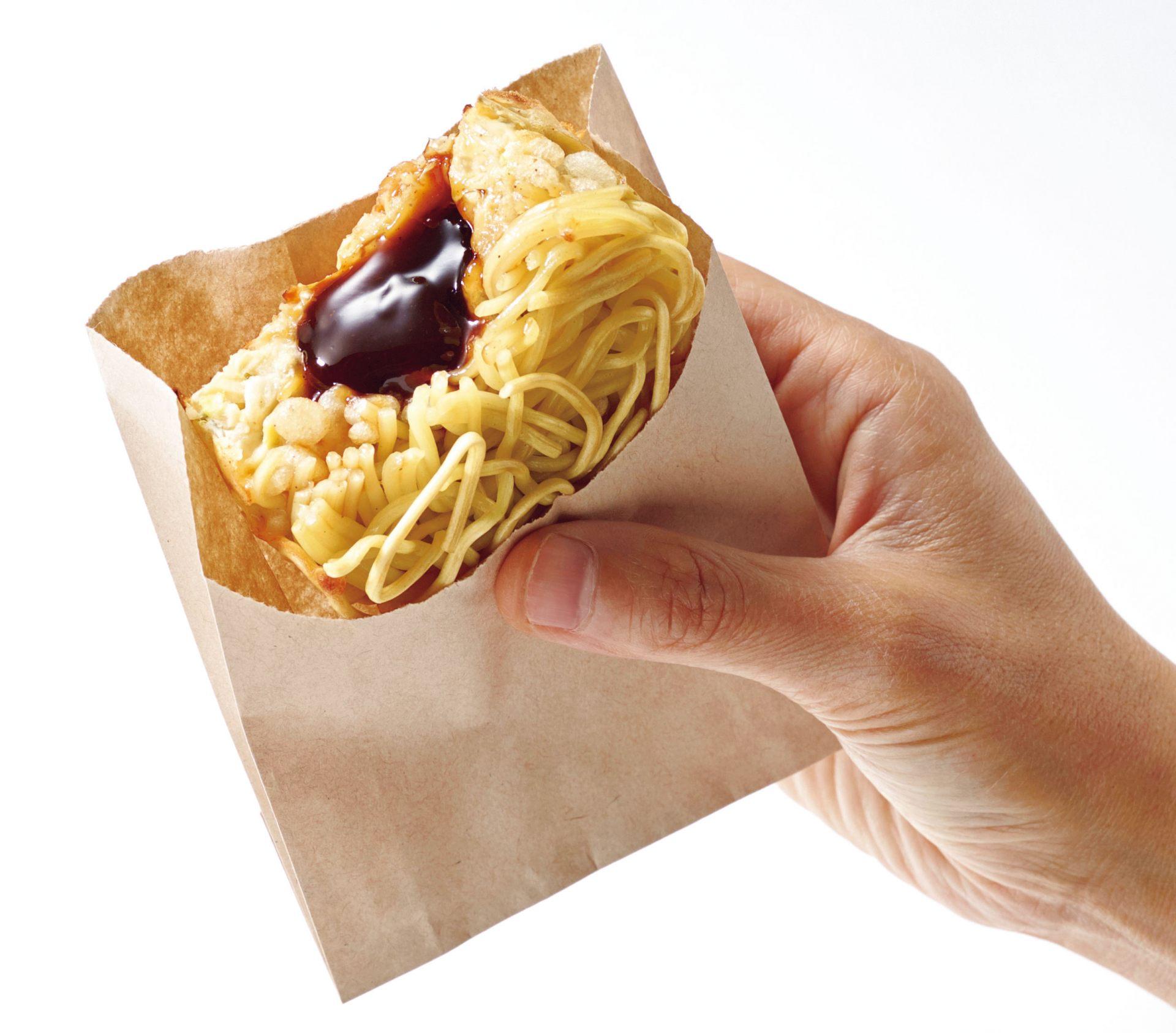 Okonomiyaki Sauce Manju(荞麦面)220日元