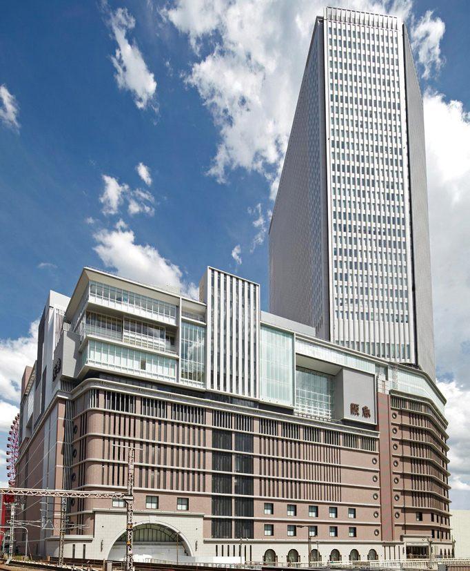 位于大阪市中心・梅田的「阪急百货店 梅田总店」