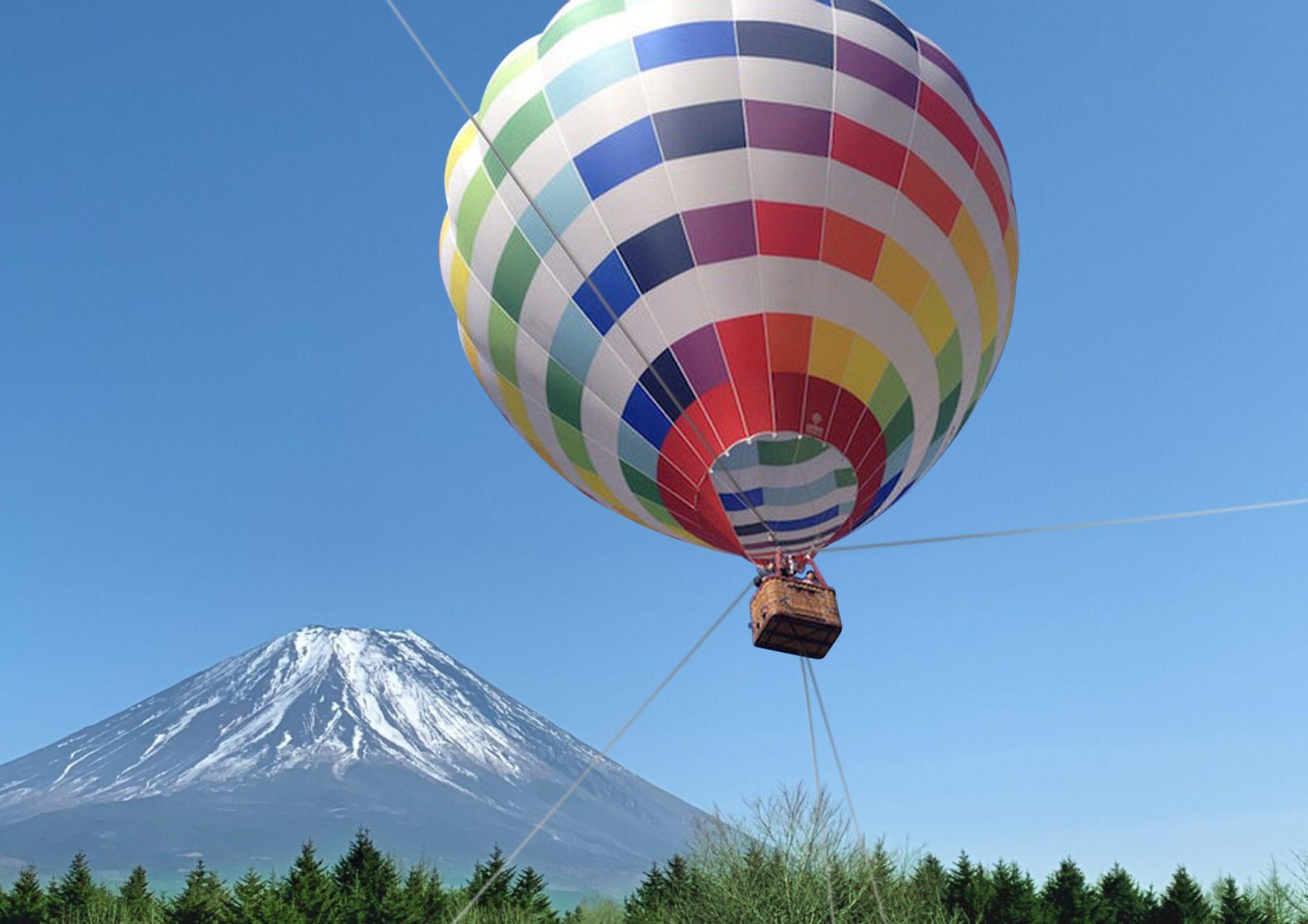 搭上热气球一望绝美景致! ※图片仅供参考