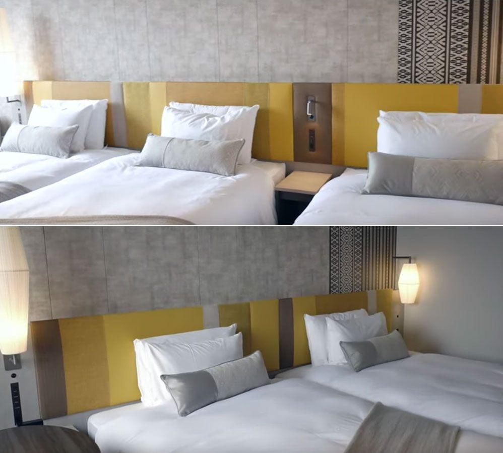 三床房、標準雙床房