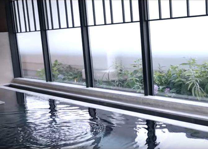 在寬廣的大浴場好好放鬆一下!