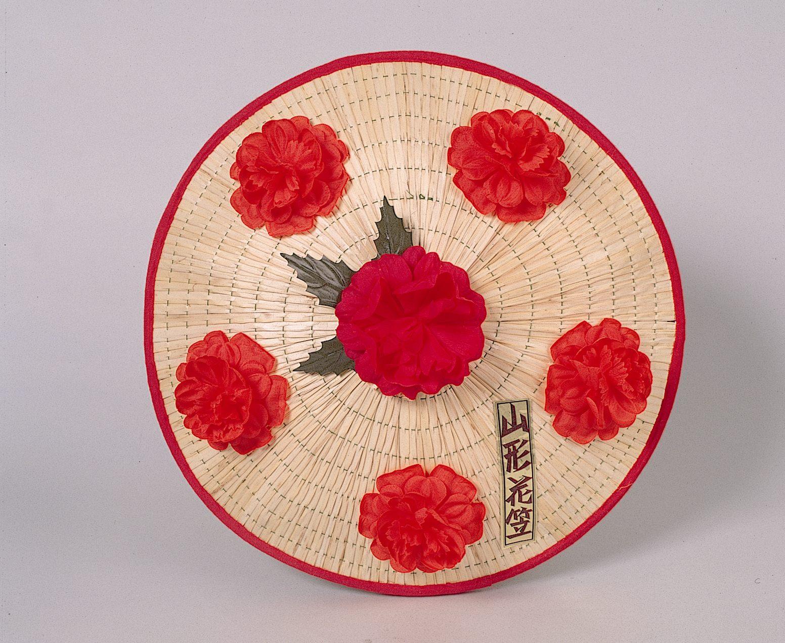 花笠祭的象徵「花笠」