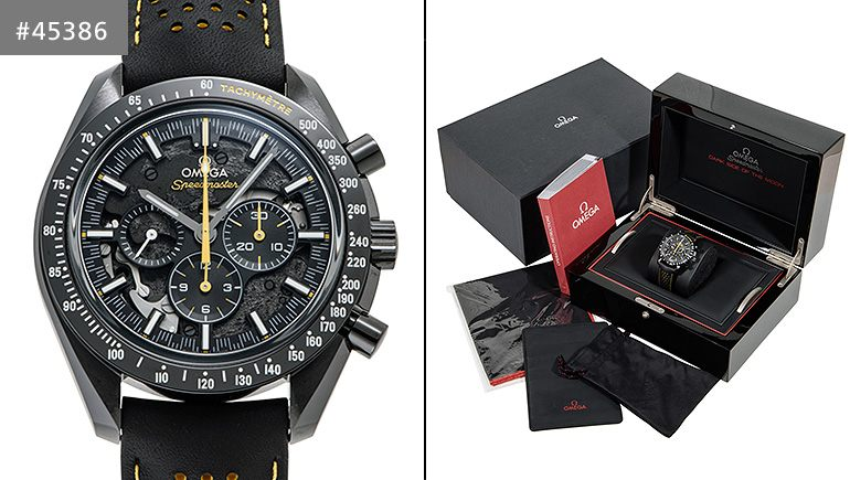 OMEGA Speedmaster Dark Side of the Moon Watch ApolloXIII