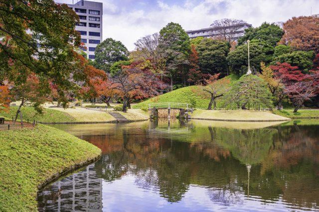 拍攝景點相當多的小石川後樂園
