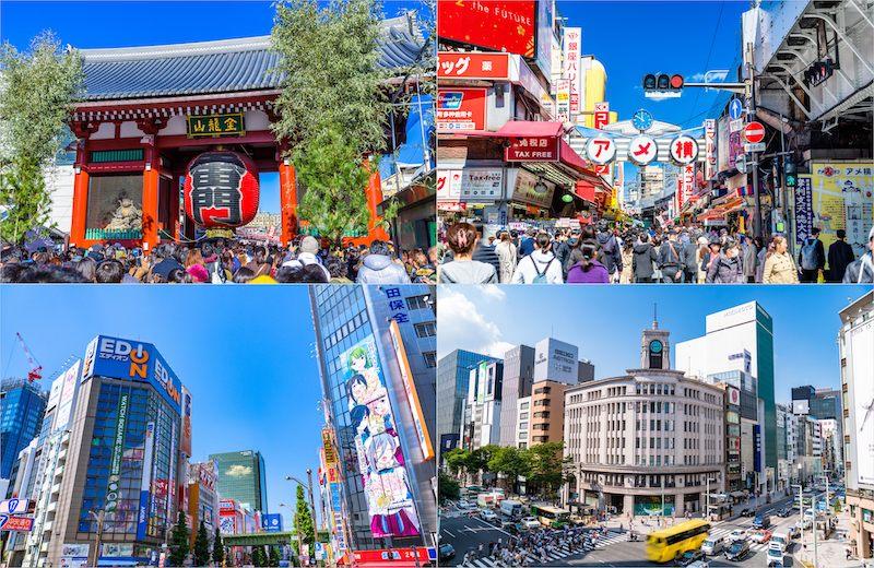 使用Tokyo Tower & Access Ticket也可以輕鬆前往東京代表性的觀光景點!