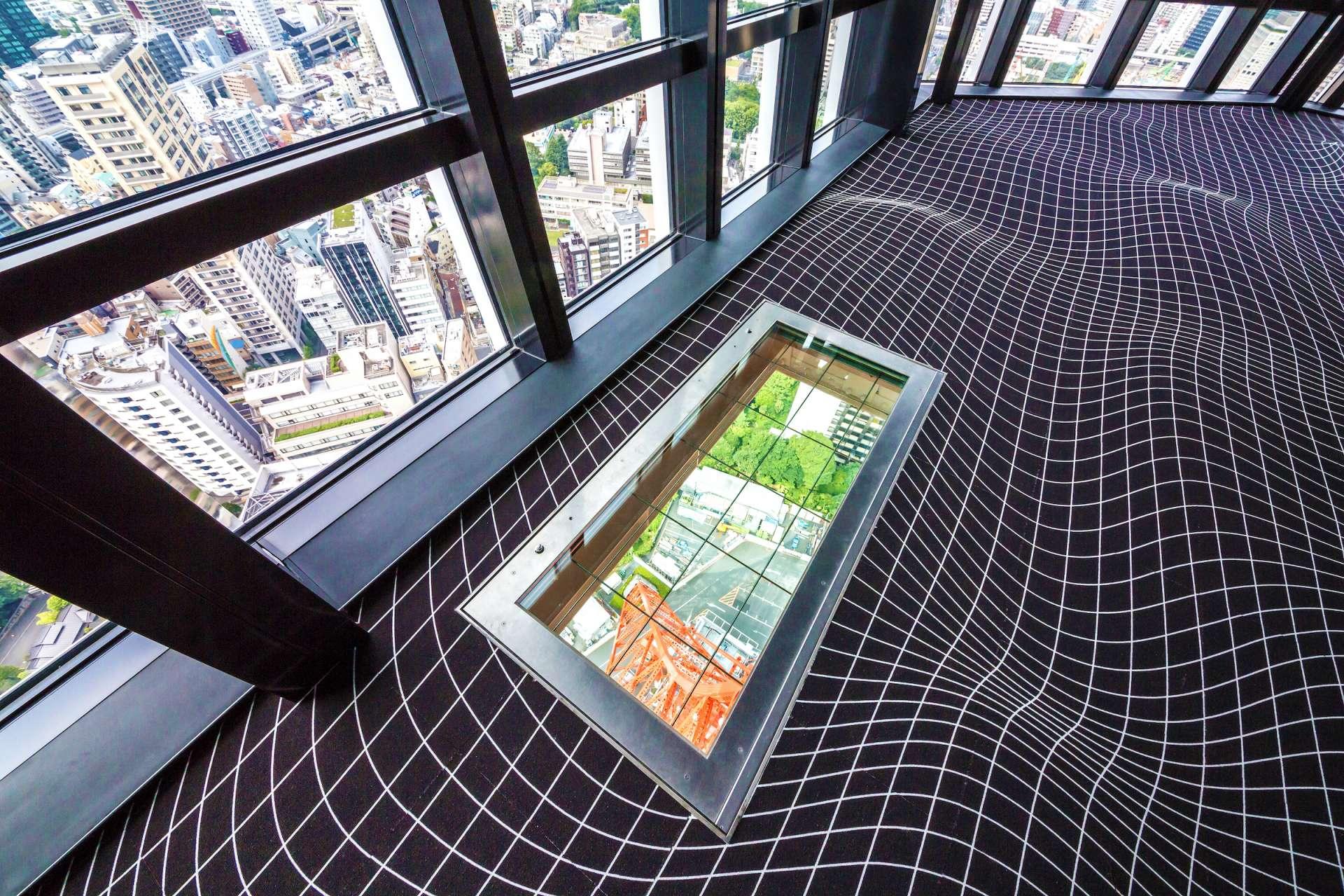 從145公尺高俯瞰