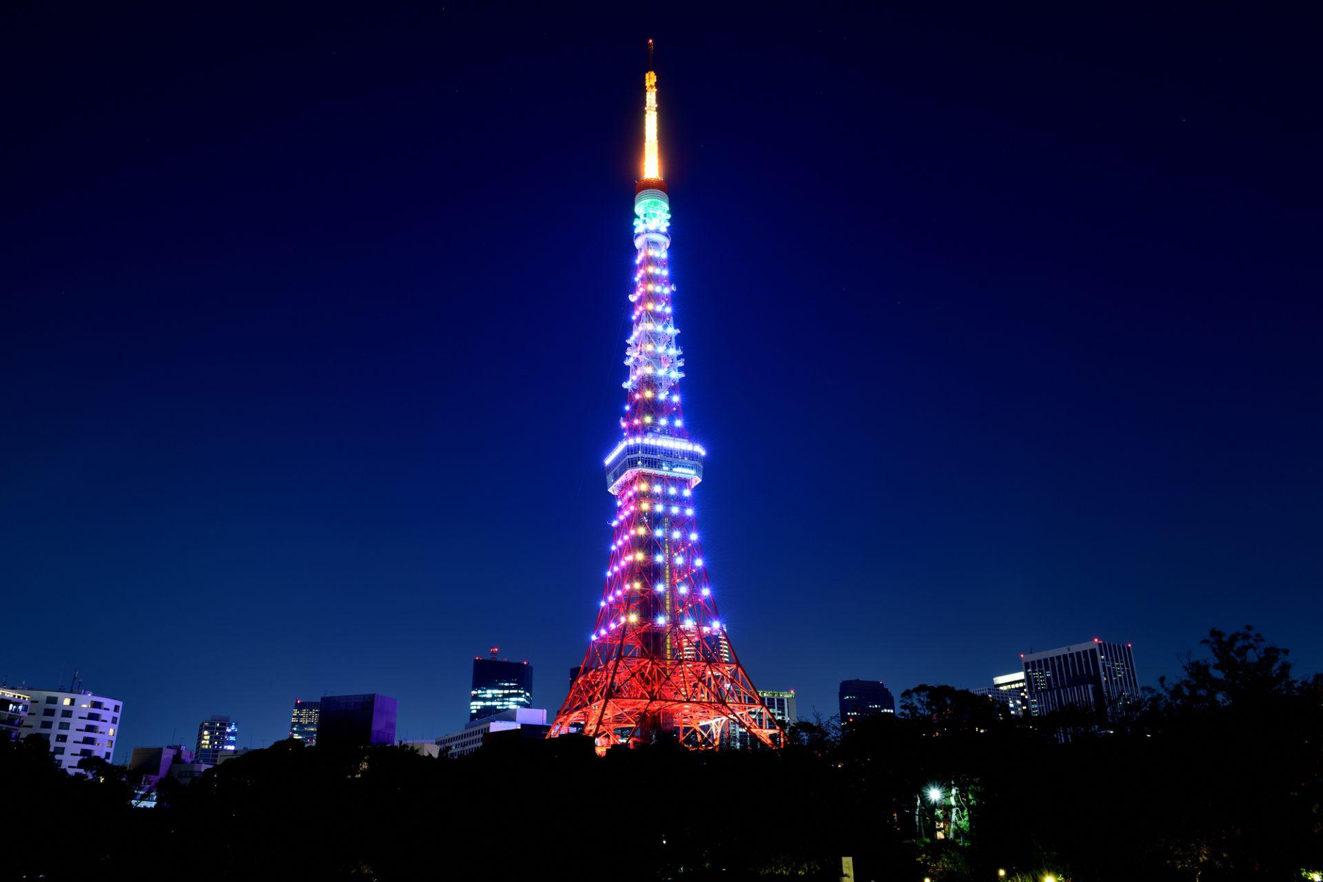 為紀念日本年號改為令和而開始實施的特別點燈:鑽石面紗