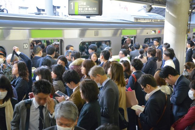 東京名產「沙丁魚電車」