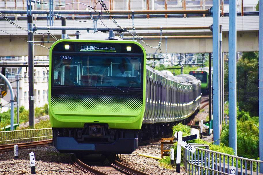 在山手線,就算電車跑了,下一班立刻就會來了。