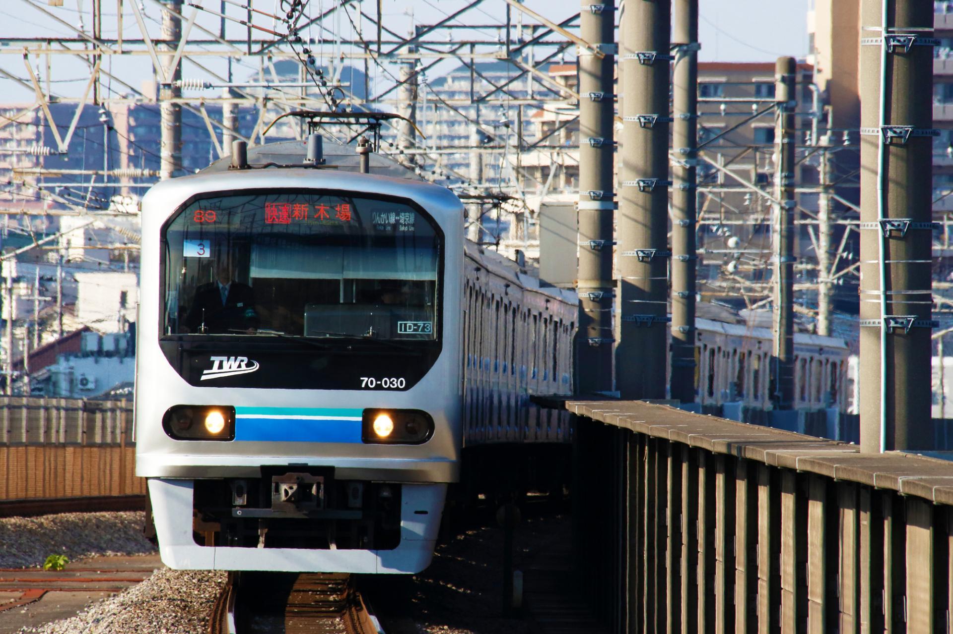 能從澀谷直達台場的臨海線