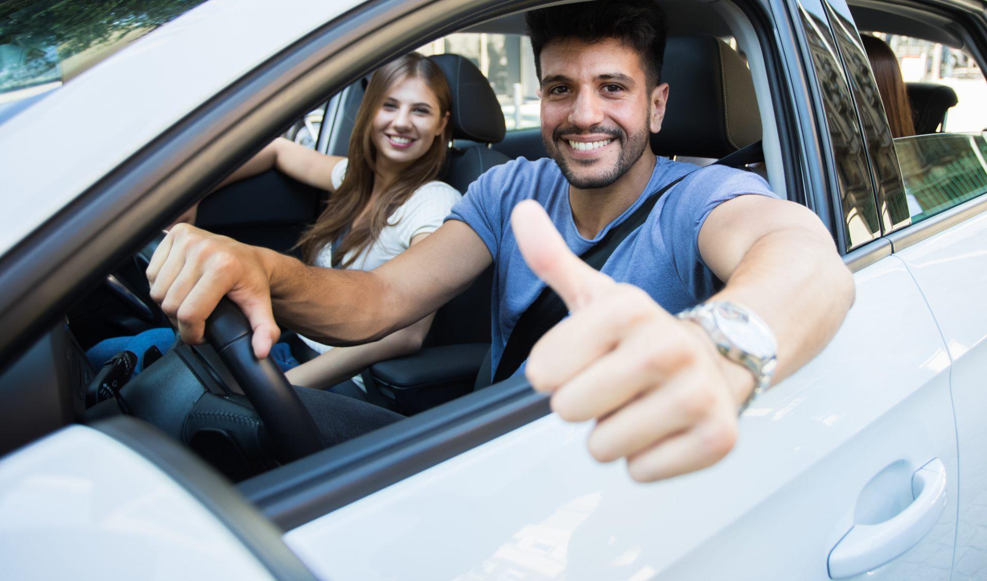 租車可以自由地享受旅程