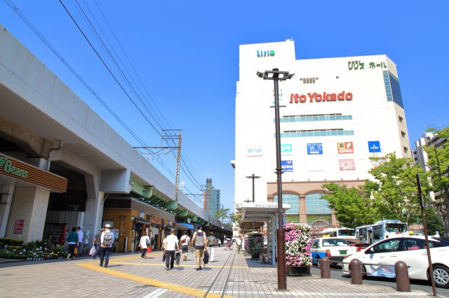 The South Exit of Kameari Station