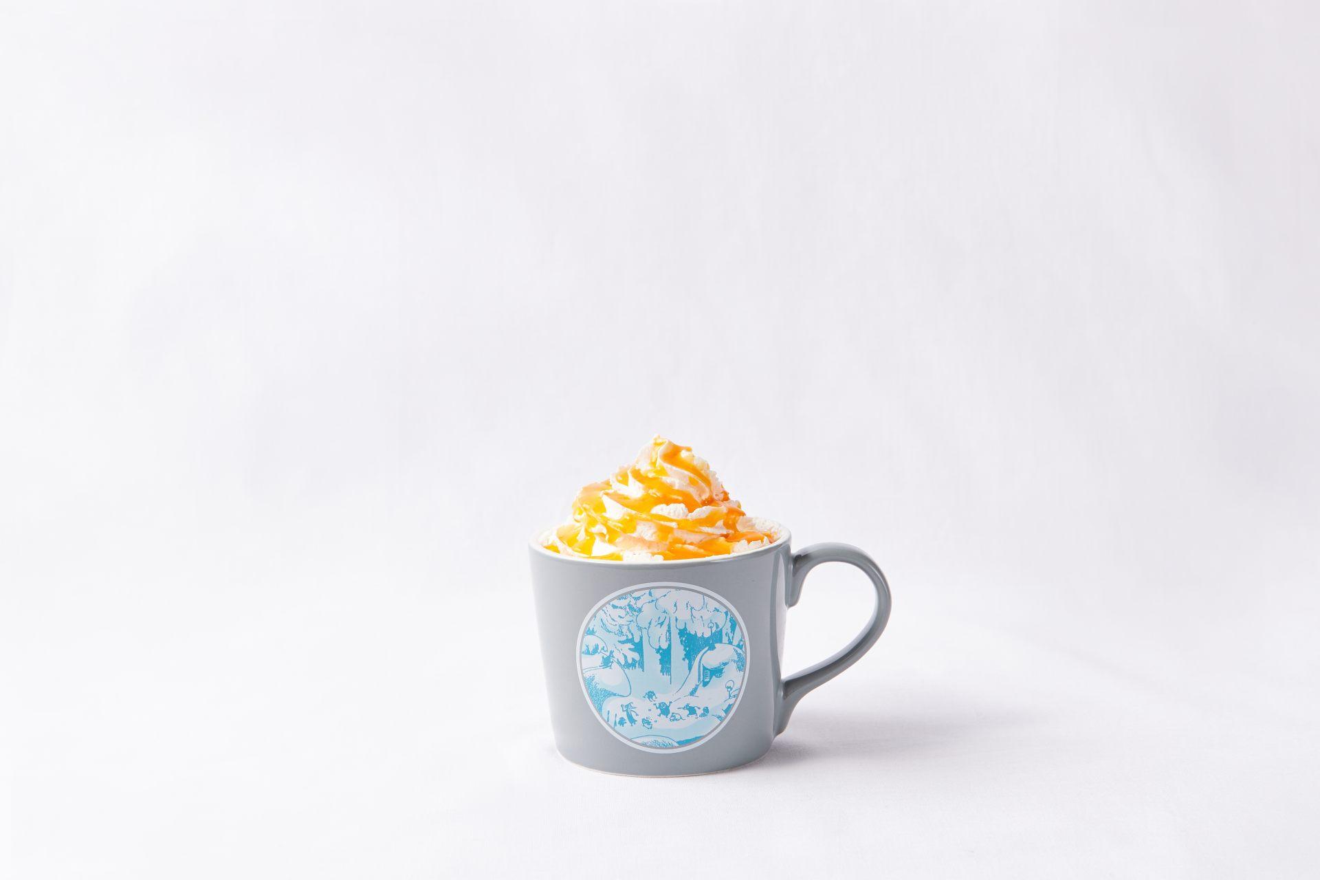 热鲜橙拿铁(715日元)
