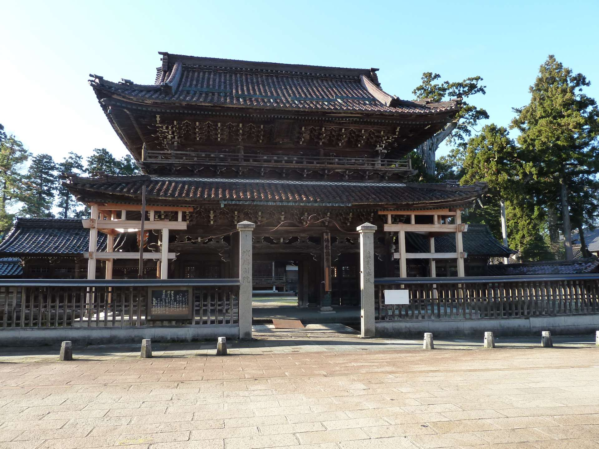 Johana originally developed as a temple town around Zentoku-ji