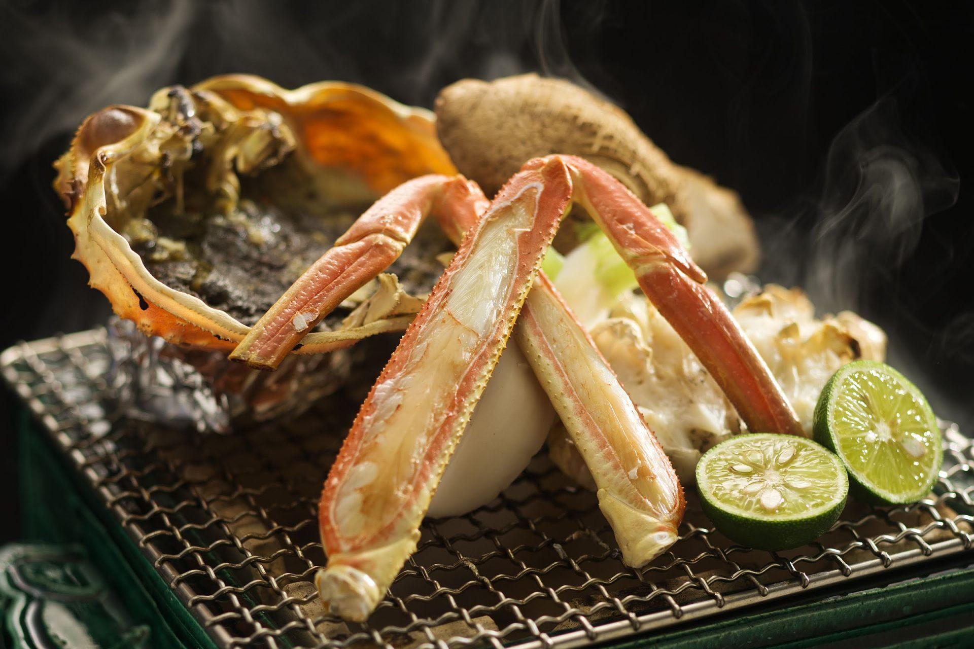 "The ""Taiza crab,"" a local brand crab."