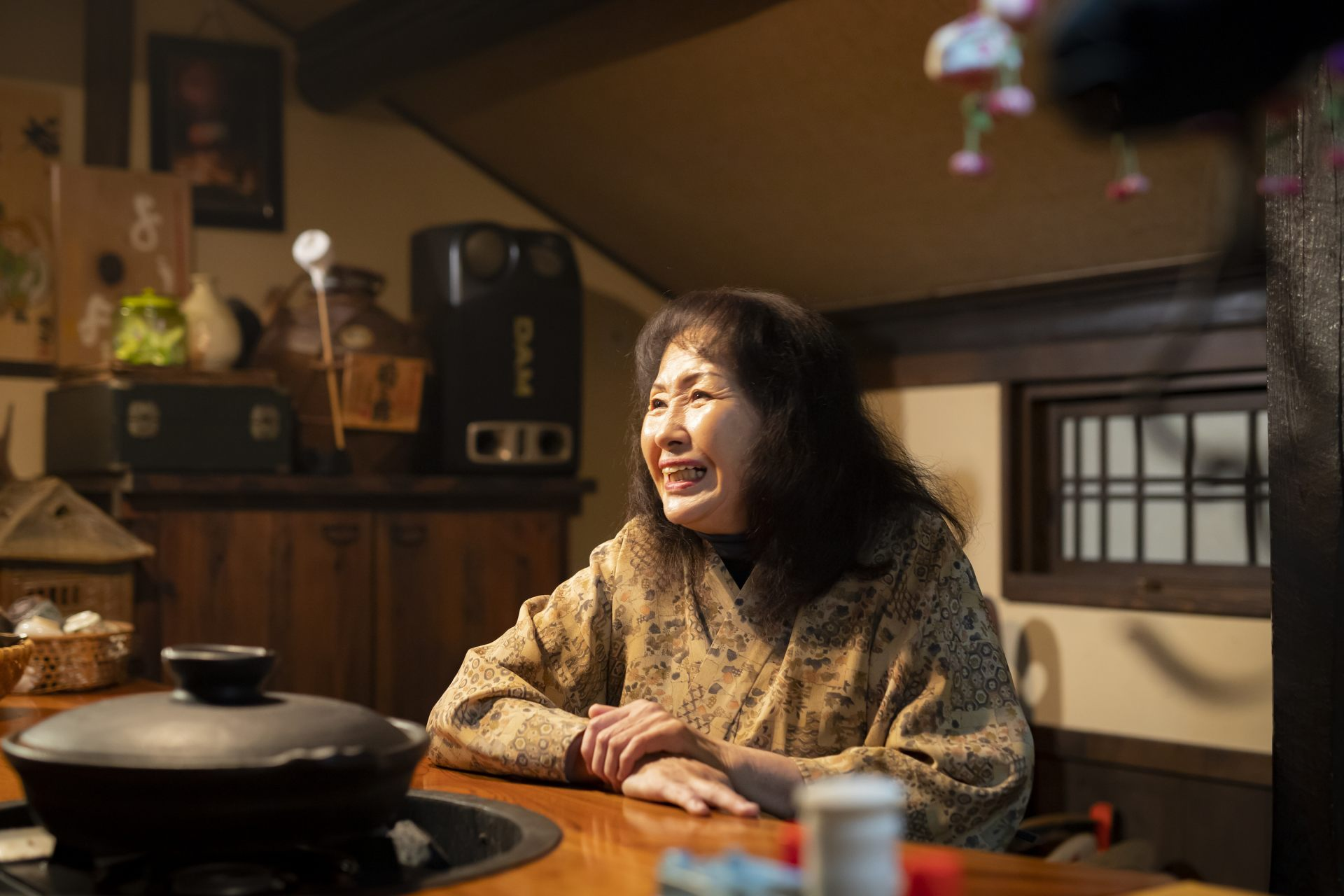 If you visit as a group, head up to the second floor, where the hostess will hold a lecture on tofu. The room is comfortable, and has a unique Japanese atmosphere.