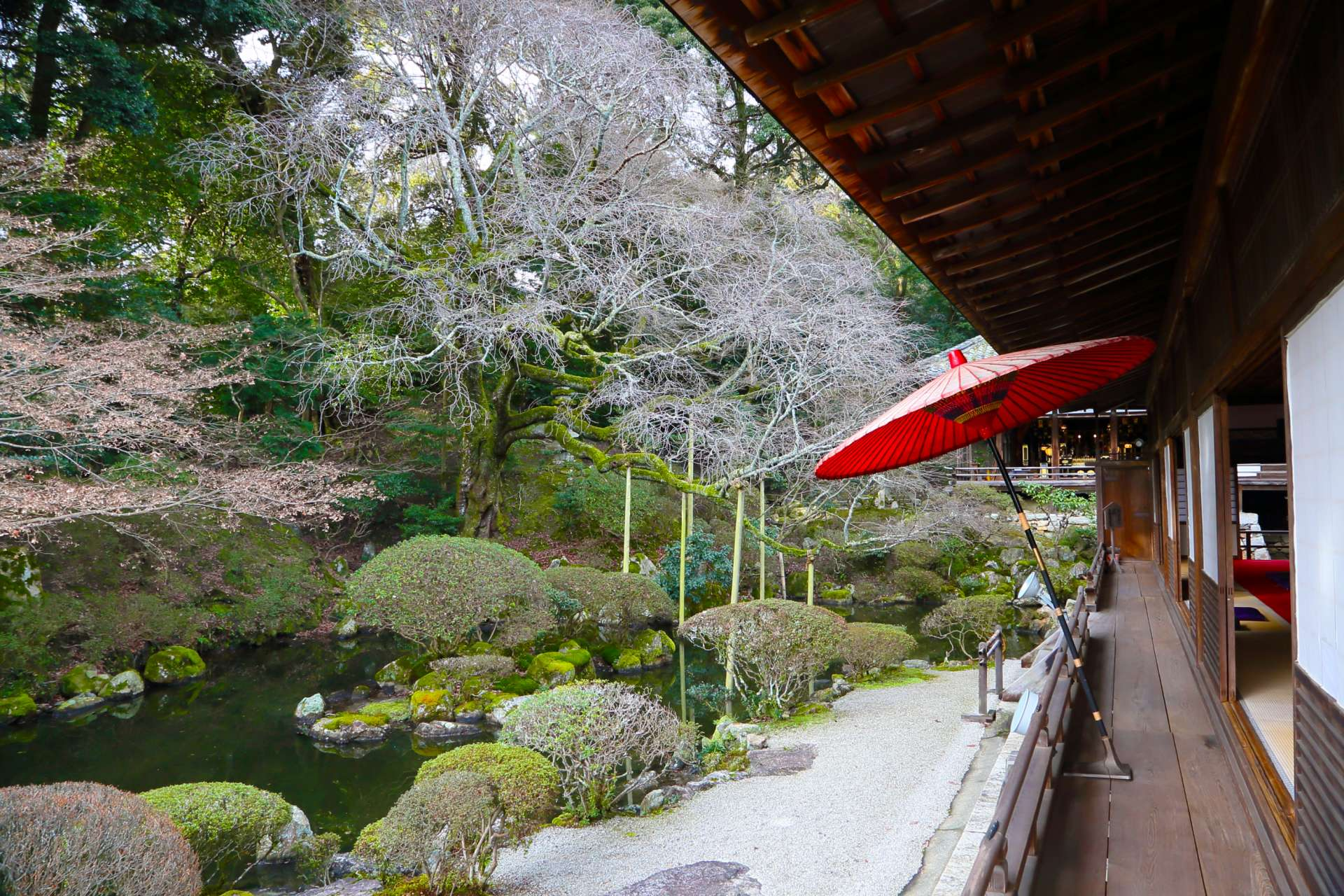 Mii Garden has been called a work of art by Soami from the Muromachi period.