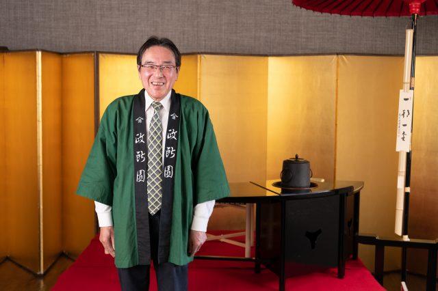 Mandokoroen Company representative, Mr. Masaaki Ogura.