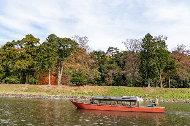 The pleasure boat you will board is the fourth boat, Ryuomaru.
