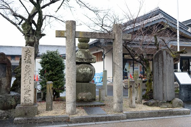 Taima no Kehaya-zuka. It is still cherished and maintained by the locals.