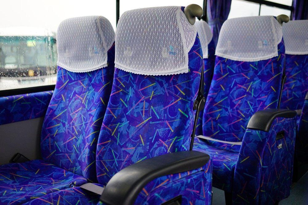 一般高速巴士的座位
