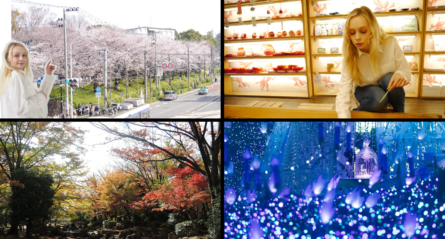 """The theme of 2020's survey is """"Seasons"""".  From spring and summer to autumn and winter, which route is popular?"""